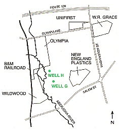 W.R. Grace and Contaminated Wells