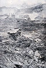 Devastation from the Johnstown Flood