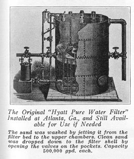 1128 Hyatt Pure Water  Filter
