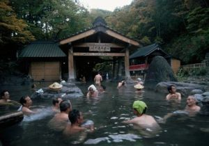 Outdoor Baths at Hot Springs