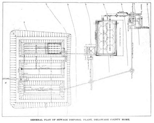 1217 General Plan for Small Sewage Treatment plant