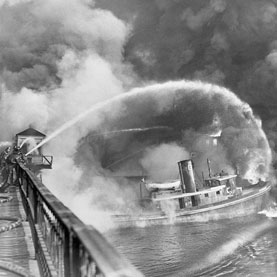 Cuyahoga River Catches Fire...Again