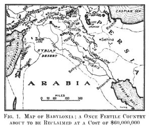 0306 Map of Babylonia