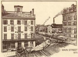 Main Street, Akron, Ohio, 1875
