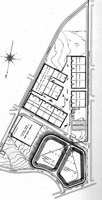 Plan of Belmont Filter Plant 1903; phillyh2o.org