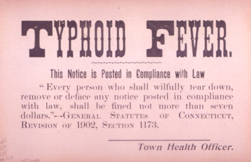 0406 Milwaukee typhoid fever