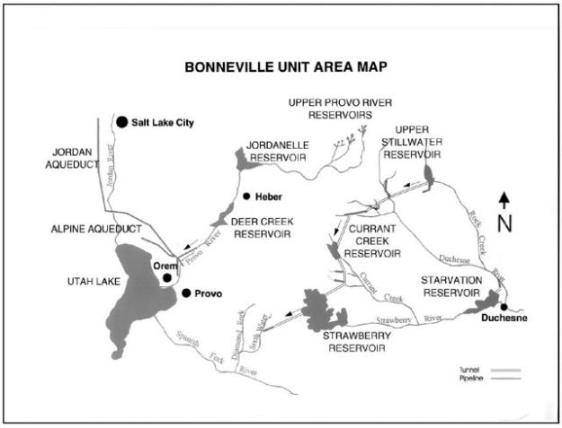 The Bonneville Project was just one component of the Central Utah Project