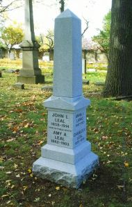 Grave Monument for Dr. Leal