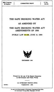 0619 1986 SDWA amendments