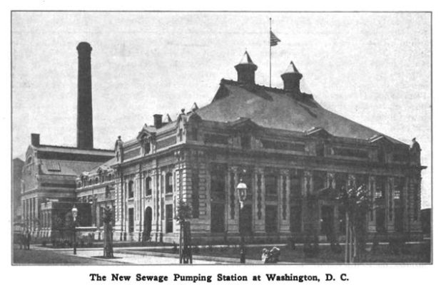 0822 New Sewage Pumping Station Washington DCa