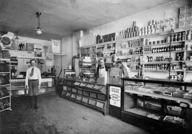 1924 Richmond, Virginia grocery store
