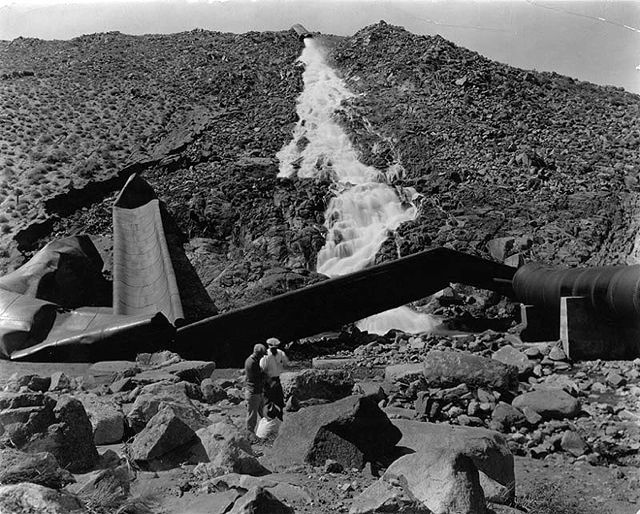 the history and benefits of constructing the los angeles aqueduct In return for the state financing, constructing,  establishing appropriative rights in ca water policy  the los angeles aqueduct system comprising the los.