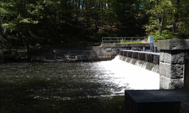 Lake Cochituate Dam