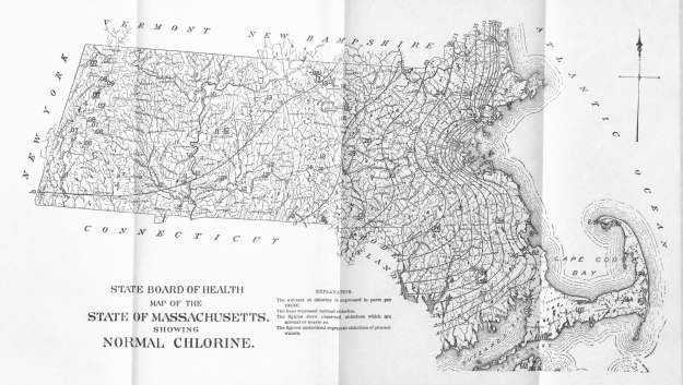 Normal Chlorine Map of Massachusetts