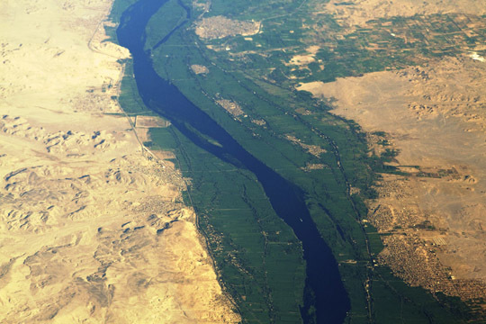 Nile River Irrigation