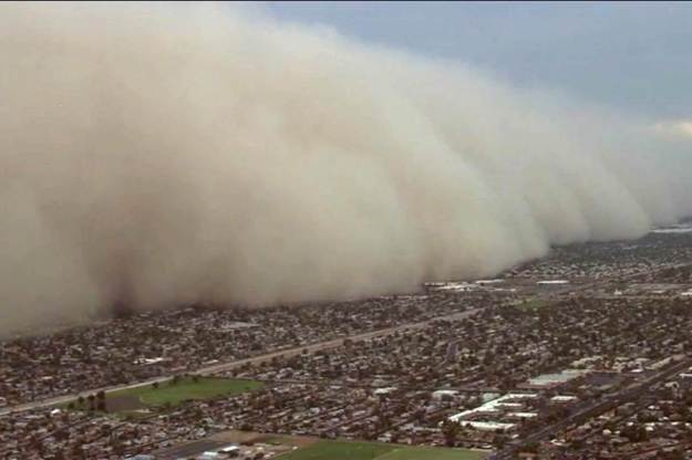 Dust Storm in Phoenix, AZ, July 25, 2014